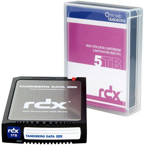 8862-RDX Tandberg RDX 5TB Cartridge (single)