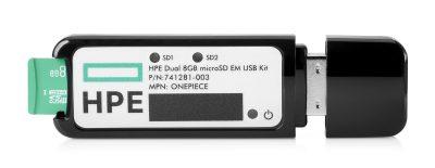 741281-003 HP Dual 8GB microSD EM USB Kit 741281-003