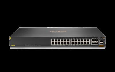 JL666A HPE Aruba 6300F - switch - 24 ports - managed - rack-mountable JL666A