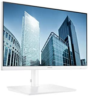 """S24H851QFN Samsung 24"""" 2560x1440 Monitor with Adjustable Stand - White S24H851QFN"""
