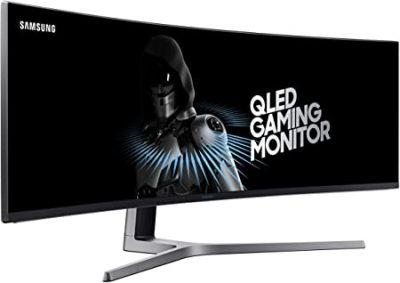 "C49HG90DMN Samsung C49HG90DMN - CHG9 Series - QLED monitor - curved - 49"" C49HG90DMN"