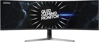 "C49RG90SSN Samsung C49RG90SSN - CRG9 Series - QLED monitor - curved - 49"" C49RG90SSN"