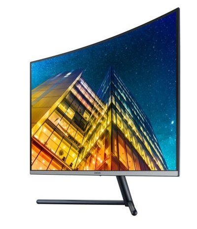 """U32R590CWN Samsung U32R590CWN - UR59C Series - LED monitor - curved - 4K - 32"""" U32R590CWN"""