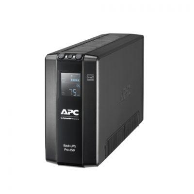 BR650MI APC Back UPS Pro BR 650VA, 6 Outlets, AVR, LCD Interface BR650MI