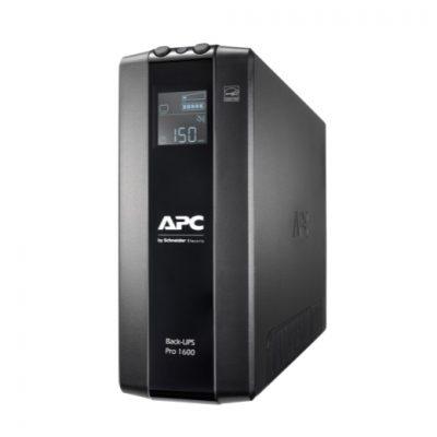 BR1600MI APC Back UPS Pro BR 1600VA, 8 Outlets, AVR, LCD Interface BR1600MI