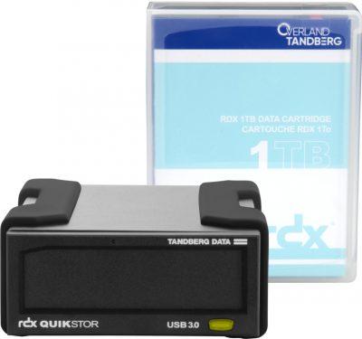 8864-RDX Tandberg Data RDX QuikStor External Drive Kit – 1TB USB3+ 8864-RDX
