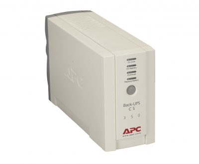 BK350 APC Back-UPS - 120V, 350VA, 210-Watt, 6-Outlet BK350