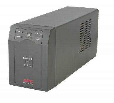 SC620 APC Smart-UPS SC Tower - 120V, 620VA, 390-Watt, 4-Outlet SC620