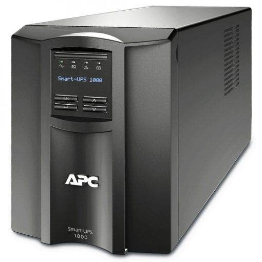 SMT1000IC APC Smart-UPS 1000VA, Tower, LCD 230V with SmartConnect Port SMT1000IC