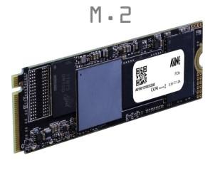 ASCN8M28-0960NAEQ2 Asine M.2-2280-S2-M QLC 960GB NVMe Gen3 Commercial Temp. FastEr AES256 PRO | ASCN8M28-0960NAEQ2