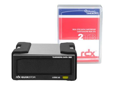 8865-RDX Tandberg Data RDX QuikStor External Drive Kit – 2TB USB3+ 8865-RDX