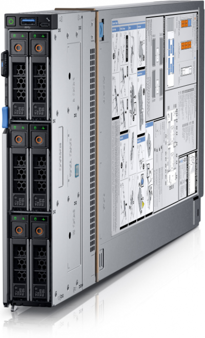 MX750c Dell PowerEdge MX750c Compute Sled