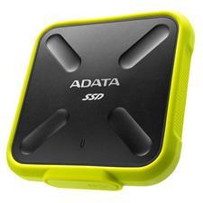 ASD700-1TU3-CYL ADATA SD700 1TB USB 3.1 Portable External 3D NAND SSD - Yellow ASD700-1TU3-CYL
