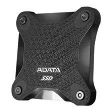 ASD600Q-240GU31-CBK ADATA SD600Q 240GB USB 3.2 Gen 1 Portable External 3D NAND SSD - Black ASD600Q-240GU31-CBK