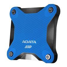 ASD600Q-240GU31-CBL ADATA SD600Q 240GB USB 3.2 Gen 1 Portable External 3D NAND SSD - Blue ASD600Q-240GU31-CBL