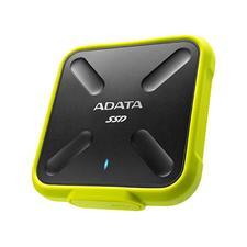 ASD700-1TU31-CYL Adata SD700 1TB USB 3.1 Portable External Rugged SSD Hard Drive - Yellow ASD700-1TU31-CYL