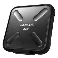 ASD700-512GU31-CBK Adata SD700 512GB USB 3.1 Portable External Rugged SSD Hard Drive - Black ASD700-512GU31-CBK