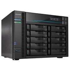 AS6510T Asustor AS6510T 10-Bay Diskless Desktop NAS Quad-Core Atom CPU 8GB RAM AS6510T