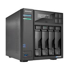 AS6604T Asustor AS6604T 4-Bay Diskless NAS Quad-Core Celeron CPU 4GB RAM AS6604T