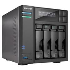 AS7004T-i5 Asustor AS7004T-i5 4-Bay Diskless NAS Intel Core i5 3.0GHz CPU 8GB RAM AS7004T-i5