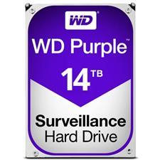 """WD140PURZ WD WD140PURZ 14TB Purple 3.5"""" SATA3 Surveillance Hard Drive WD140PURZ"""